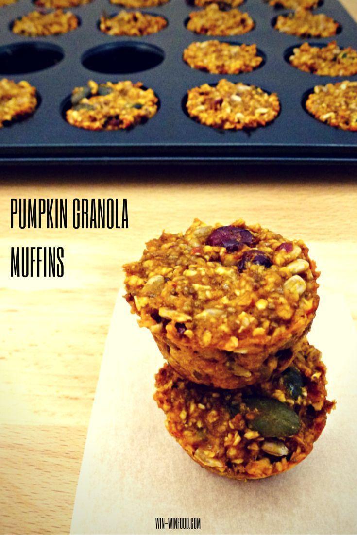 Kürbis-Müsli-Muffins