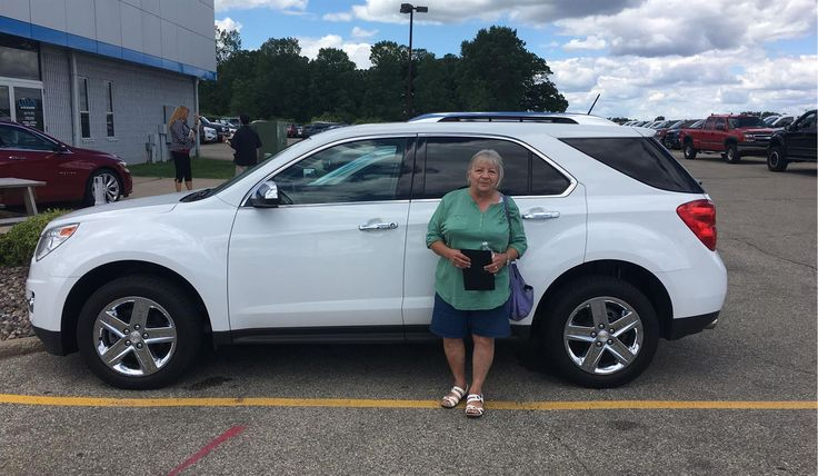 Thank you, Barbara for the opportunity to help you with your new 2014 CHEVROLET EQUINOX!  All the best, Kunes Country Chevrolet Buick GMC and KUNES COUNTRY CHEVROLET BUICK GMC.