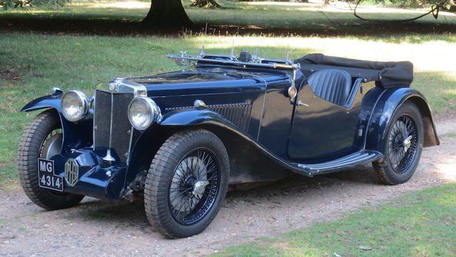 1935 MG Magnette KN 'University Special' Speed Model