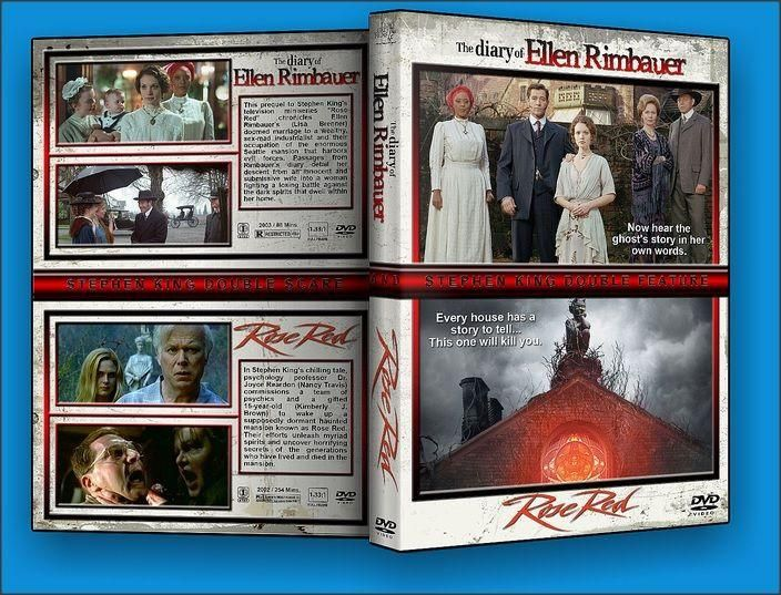 Rose Red and The Diary of Ellen Rimbauer DVD Set