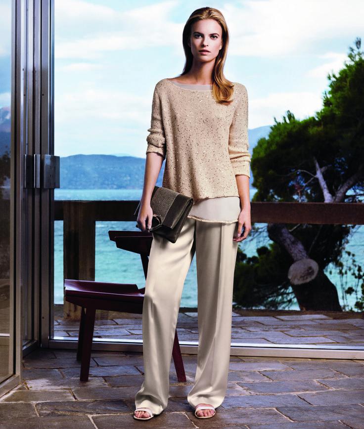 Fabrics are fresh and light. #fabianafilippi #SS14 #campaign