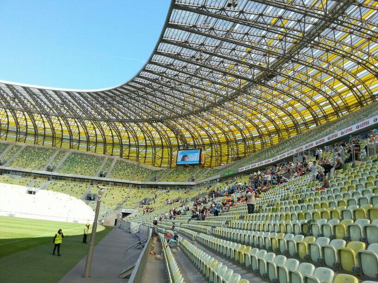 PGE ARENA @gdansk #stadion #pgearena #footbol #stadium