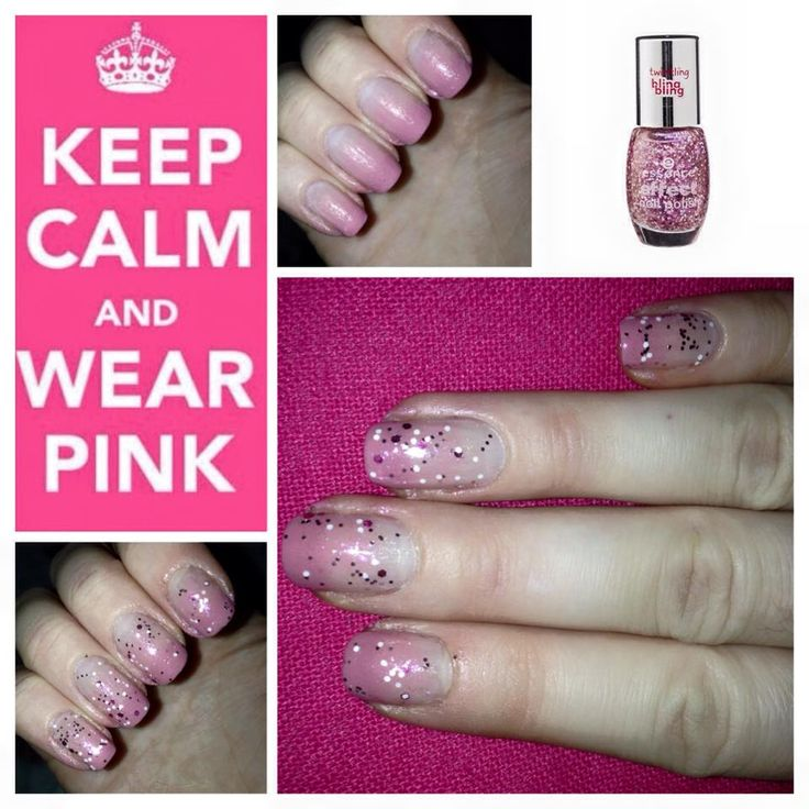 Pink and Glitter, always a good choice <3