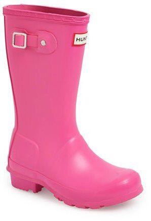 Kid's Hunter 'Original' Rain Boot