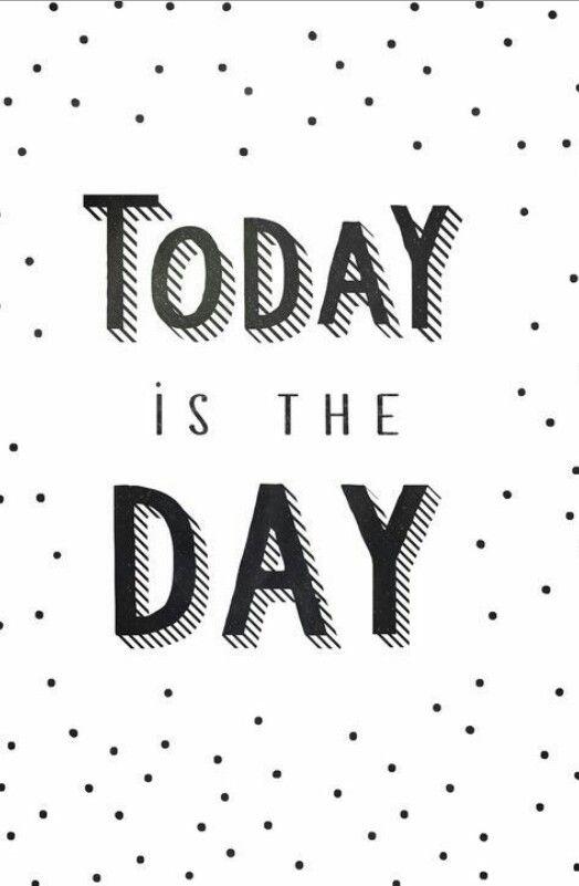 Vandaag is de dag!#