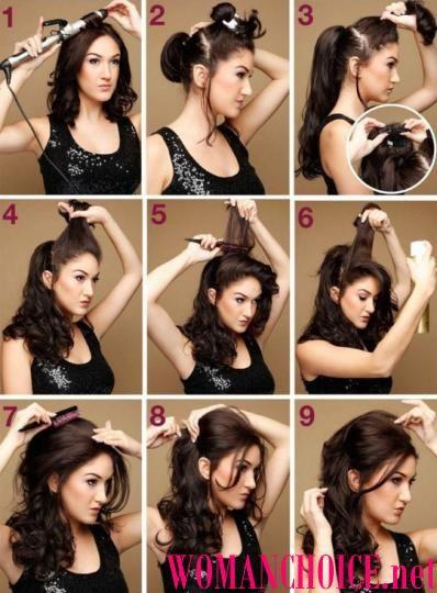 Начес волос - как сделать на длинные и средние волосы, 149 фото | WomanChoice - женский сайт