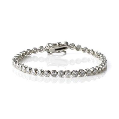 Silver and Some - Georgini Bracelet, 3mm Bezel Tennis Bracelet $309.00