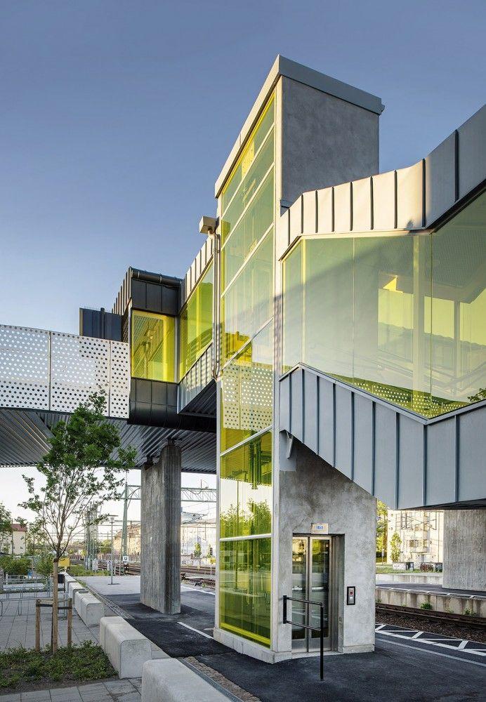 Skyttelbron Bridge / Metro Arkitekter (Sweco Architects)