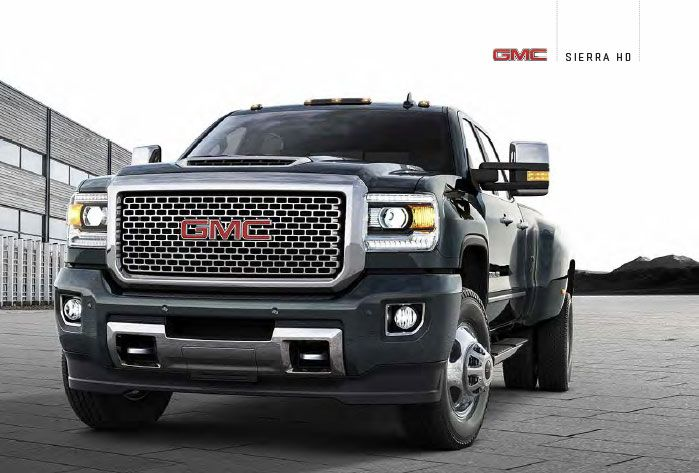 Download the 2017 GMC Sierra 2500HD Brochure