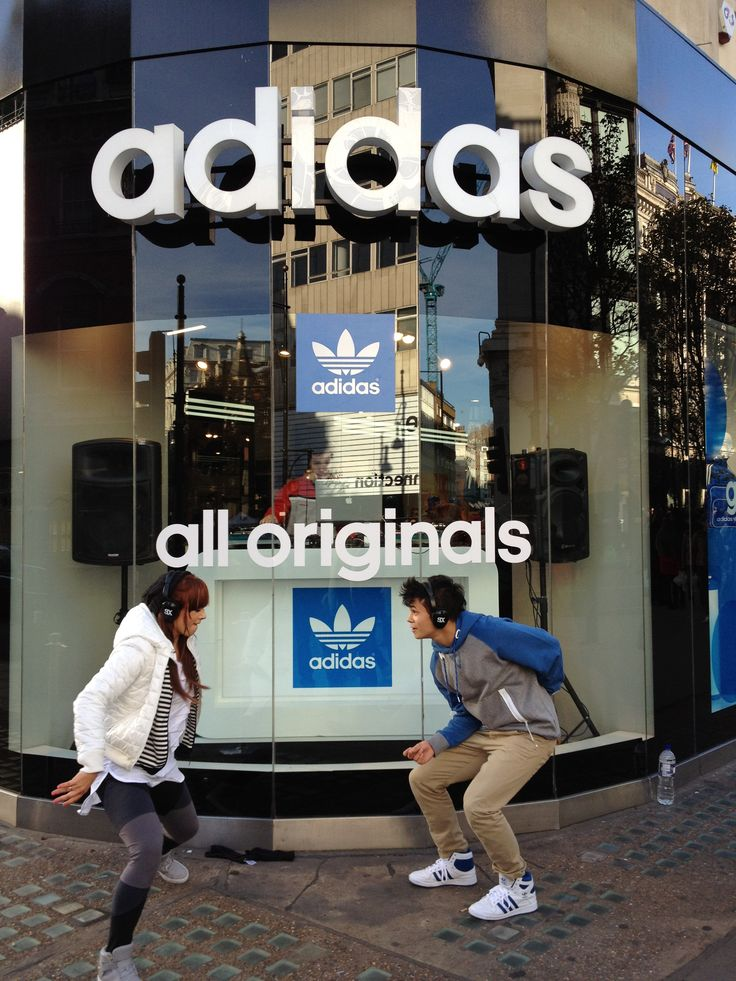 A DJ Booth designed, produced and installed in the Adidas Store Window! #experiential