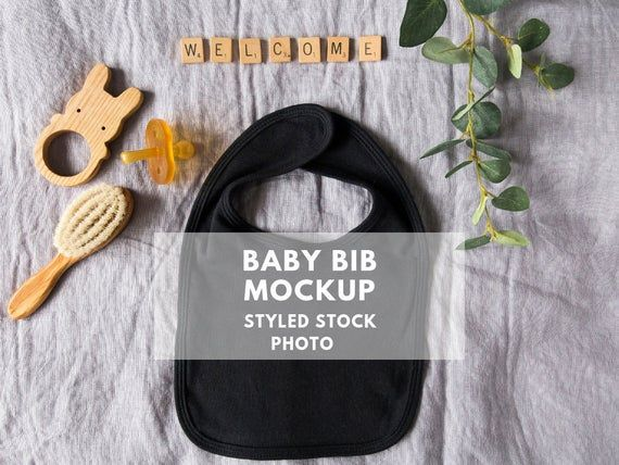 Free Baby Bib Mockup Bib Flatlay Instant Digital Download Baby Styled Stock Psd Free Psd Mockups Free Psd Mockups Templates Mockup Free Psd Free Baby Stuff