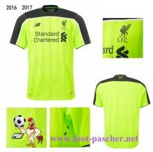 Premier: Maillot Football FC Liverpool Third 2016 2017 Replica Discount