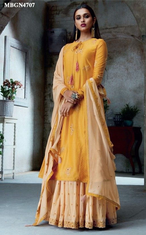 382f0affe7f Haldi Yellow Sharara Set Online Shopping For Ethnic Wear  Buy Designer  Sarees