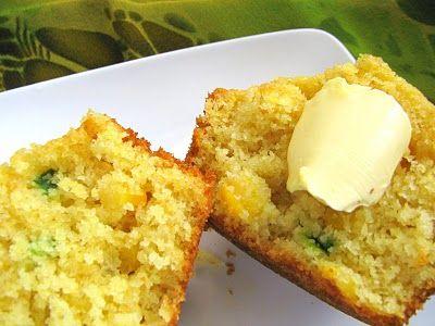Jalapeno-cornbread muffins