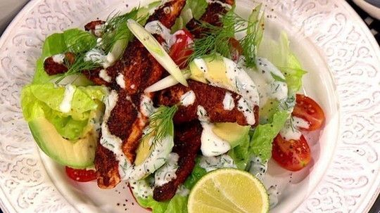 James Tanner's Cajun Salmon Salad