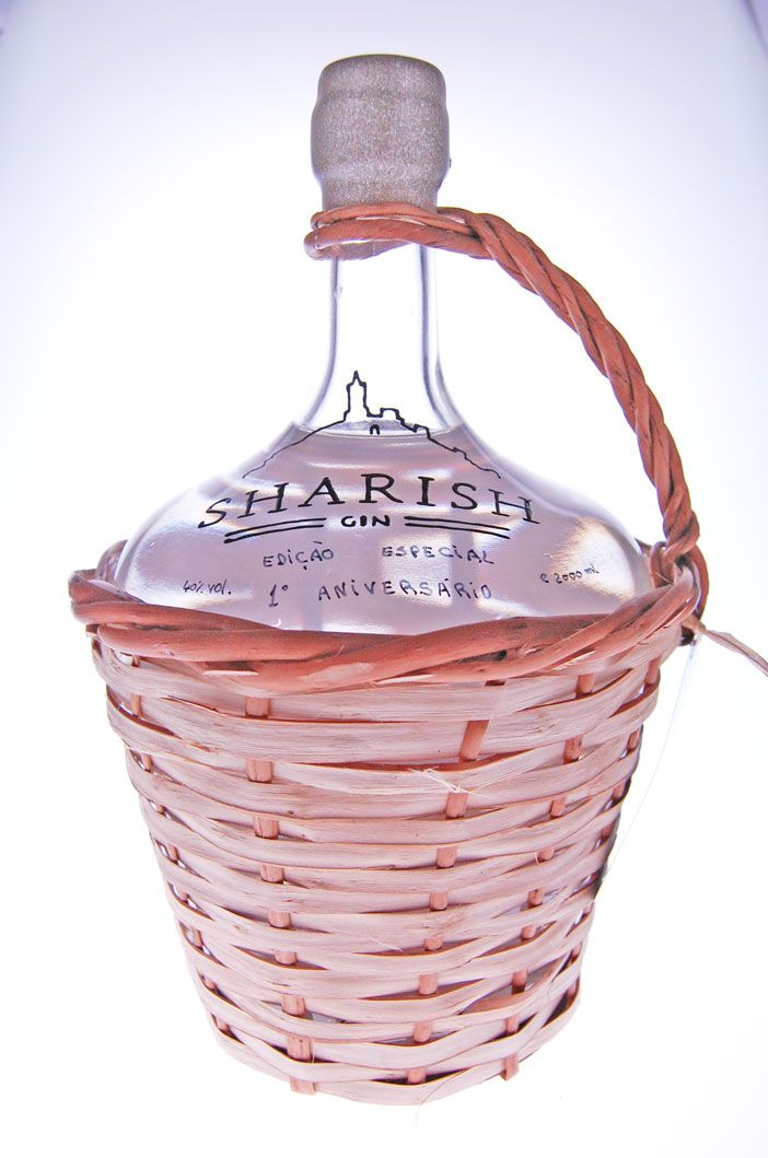 Nieuw bij Drankenwereld: Sharish Gin Magnum 2 L Special Edition 1° Anniversary. Zéér beperkte oplage van 383 flessen!