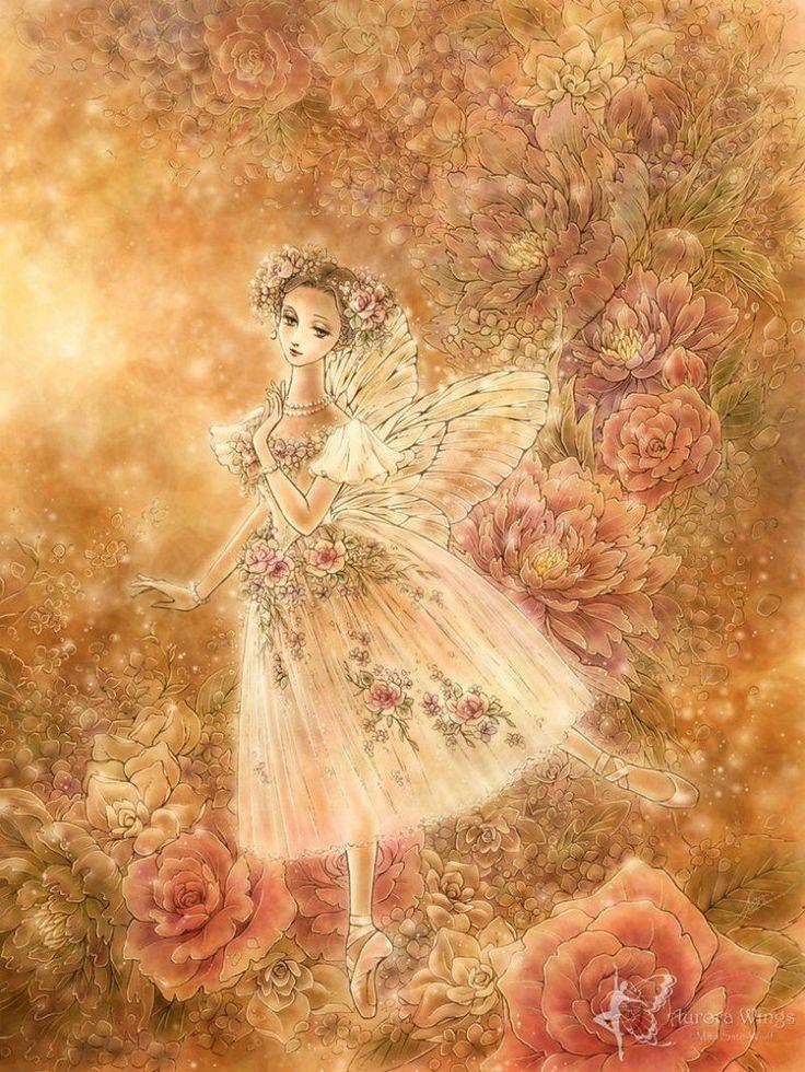 Картинки балерина и цветы, тематика