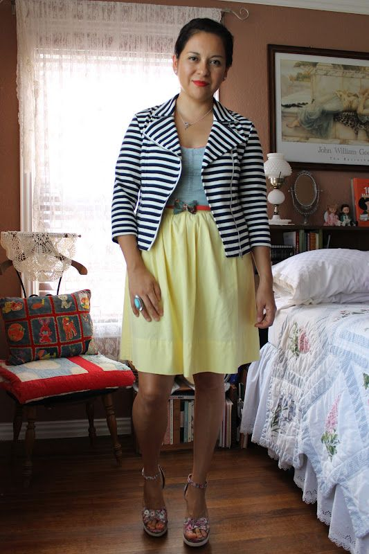 My favorite fashion blog. She does some amazing  things with thrift store finds.