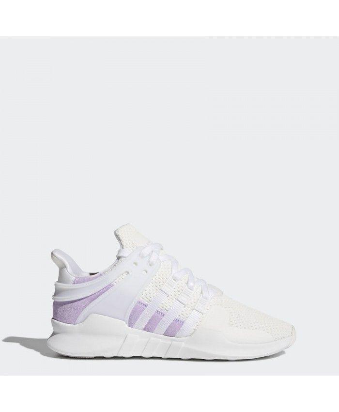quality design e432c 74a72 Adidas Women Originals Eqt Support Adv Purple White Shoes ...