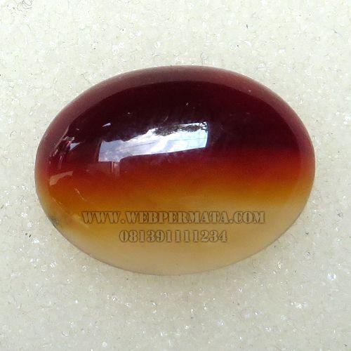 Batu Akik merah putih