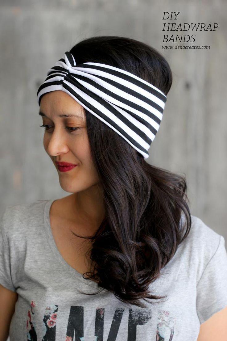 DIY Headwrap Bands | Bisutería | Diy fashion projects, DIY ...