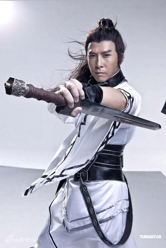 Roast Pork Sliced From A Rusty Cleaver: Donnie Yen - Online Game Photo Shoot