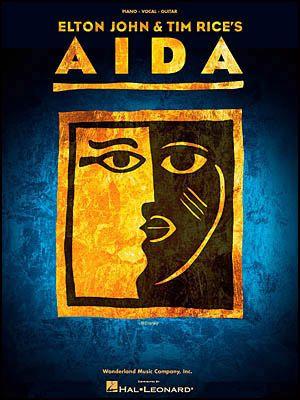 """Aida"" on Broadway, NYC, 2001,  Wonderful music, singing and story."