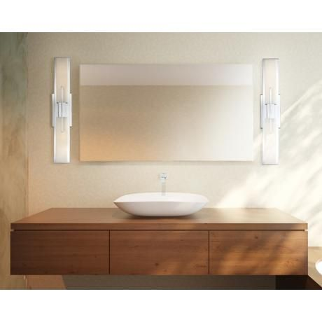 Possini Euro Design Midtown 23 1 2 High Chrome Bath Light The O 39 Jays Products And Bulbs