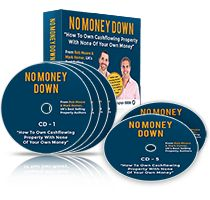 No Money Down CD Box Set  11 Proven Strategies we have used to build a portfolio of cashflowing properties. Including; Creative Financing, Lease Options, Rent To Rent, Crowd Funding + 6 more!