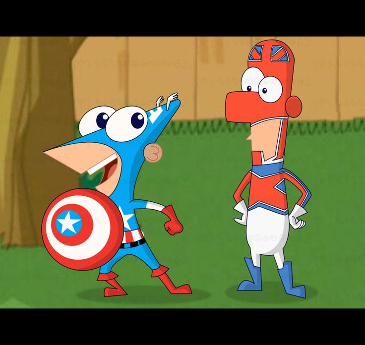 Phineas And Ferb | Phineas and Ferb Marvel Superheroes - Phineas and Ferb Fan Art ...