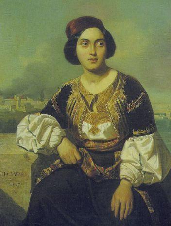 Ωστόσο, υπάρχουν και άλλες ιστορίες που συνδέονται με την Παμβώτιδα και πρώτη και πιο πολυθρύλητη αλλά και τραγουδισμένη εκείνη που την ενώνει με τη μοίρα της Κυρά-Φροσύνης, της όμορφης Γιαννιώτισσας αρχόντισσας, την οποία έπνιξε στα νερά της λίμνης μαζί με άλλες 16 γυναίκες ο Αλή Πασάς.