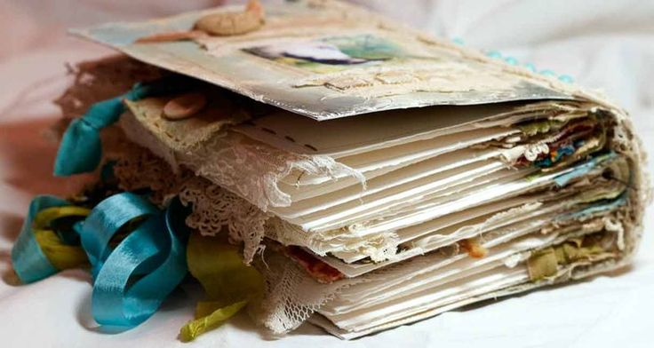one of the most beautiful journals I've seen yet - follow the link to see the whole book - its awesome!