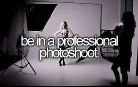 Be in a Professional Photo Shoot | Summer Fun Ideas for Teens Bucket Lists                                                                                                                                                                                 More