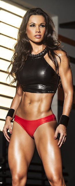 What resistance training can do for the female form. Stop the endless aerobics, ladies!