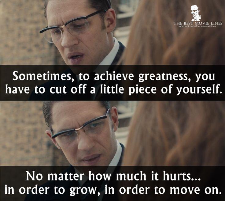 - Tom Hardy in Legend 2015