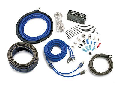 Fuses and Fuse Holders: Kicker Car Audio K-Series Ck4 Afs Fuse Holder 4Awg 2-Ch Complete Power Kits New BUY IT NOW ONLY: $64.95