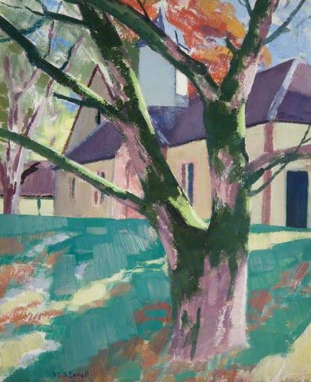 The Steading, Strachur by Francis Campbell Boileau Cadell (1883–1937)