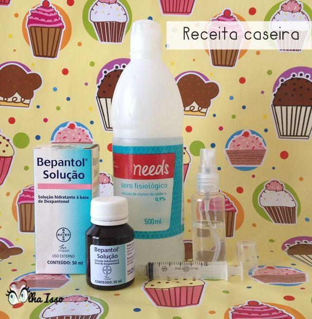 Leave in: Bepantol + Soro