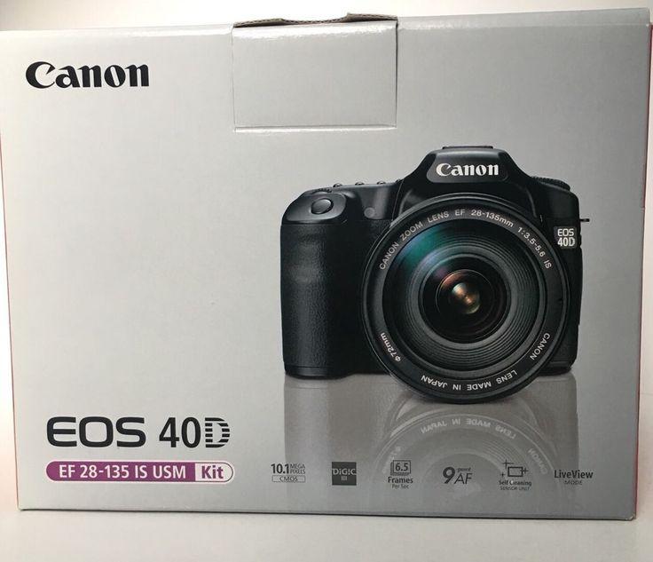 This is a Canon EOS 40D 10.1 DSLR Camera. Canon Eos 40D Camera Body. Canon EF 18-55mm Lens. Canon Lens End Cap. Canon CG-580 Charger. Canon Body Cap. Canon Strap. | eBay!