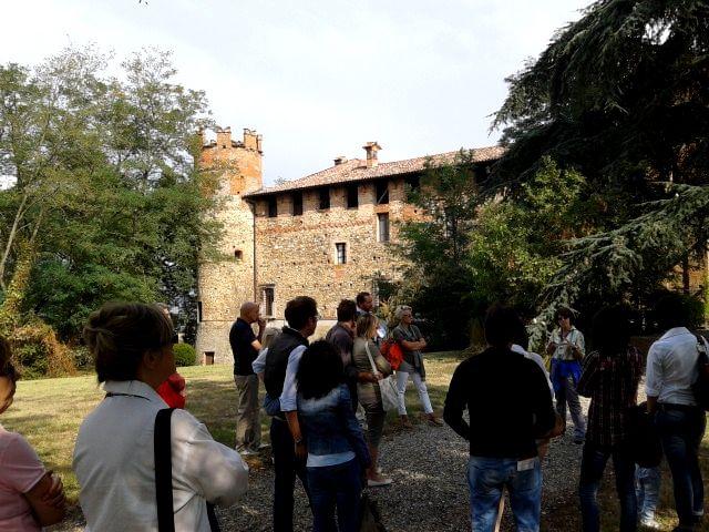 Ingresso al castello #castelli #piacenza #emiliaromagna #valtidone #turismo