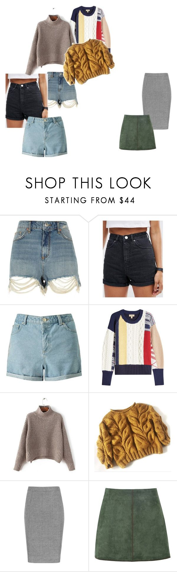 """?"" by iselinln on Polyvore featuring River Island, ASOS, Miss Selfridge, Burberry and George J. Love"