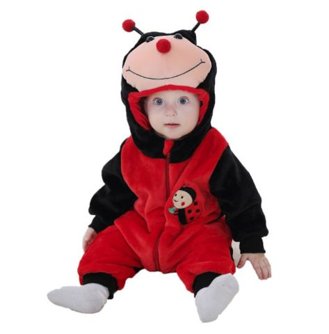 Lady Bug Jumpsuit Baby Rompers **FREE+SHIPPING**
