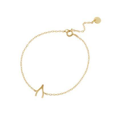 Wishbone Bracelet Gold $79   Recreational Studio