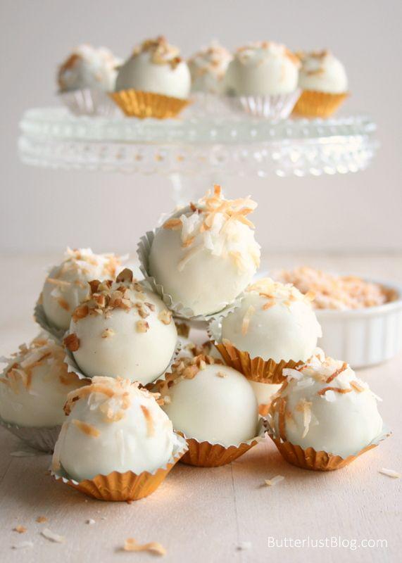 Italian Cream Cake Balls | Butterlust Blog