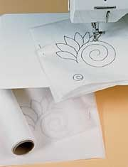 continuous quilting/marking tutorial. I like the freezer paper to practice.