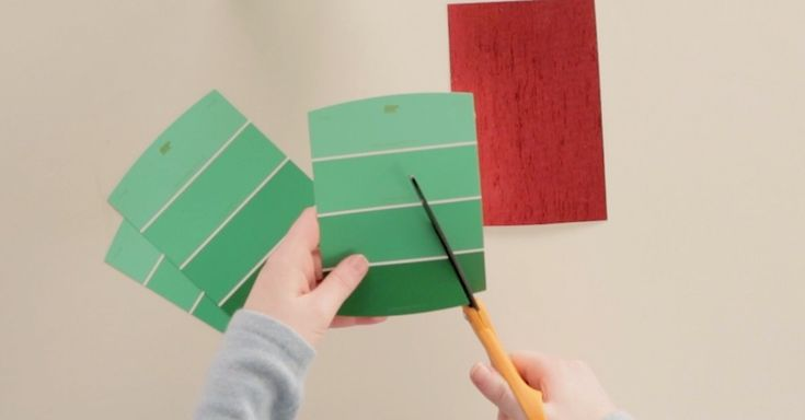 Whip Up A Batch Of Homemade Gift Tags With Your Home Improvement Leftovers! via LittleThings.com