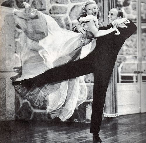 """Fred Astaire & Ginger Rogers in """"Carefree"""", 1938 