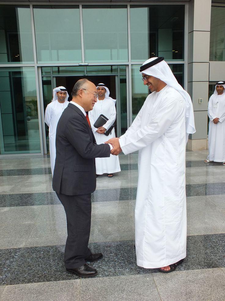 Yukiya Amano & HH Sheikh Abdullah bin Zayed (01890209)