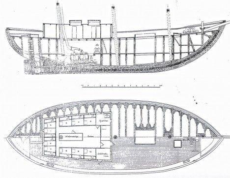 """Barco Maud-Tiene mucho que decir a la hora el Maud a la hora de maniobrar en aguas poco profundas"""", escribió. El Polo Norte había sido reclamado públicamente en 1908"""