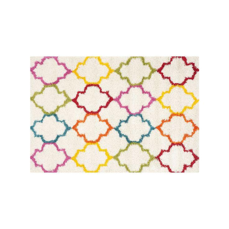 Safavieh Kids Geo Shag Rug, Multicolor